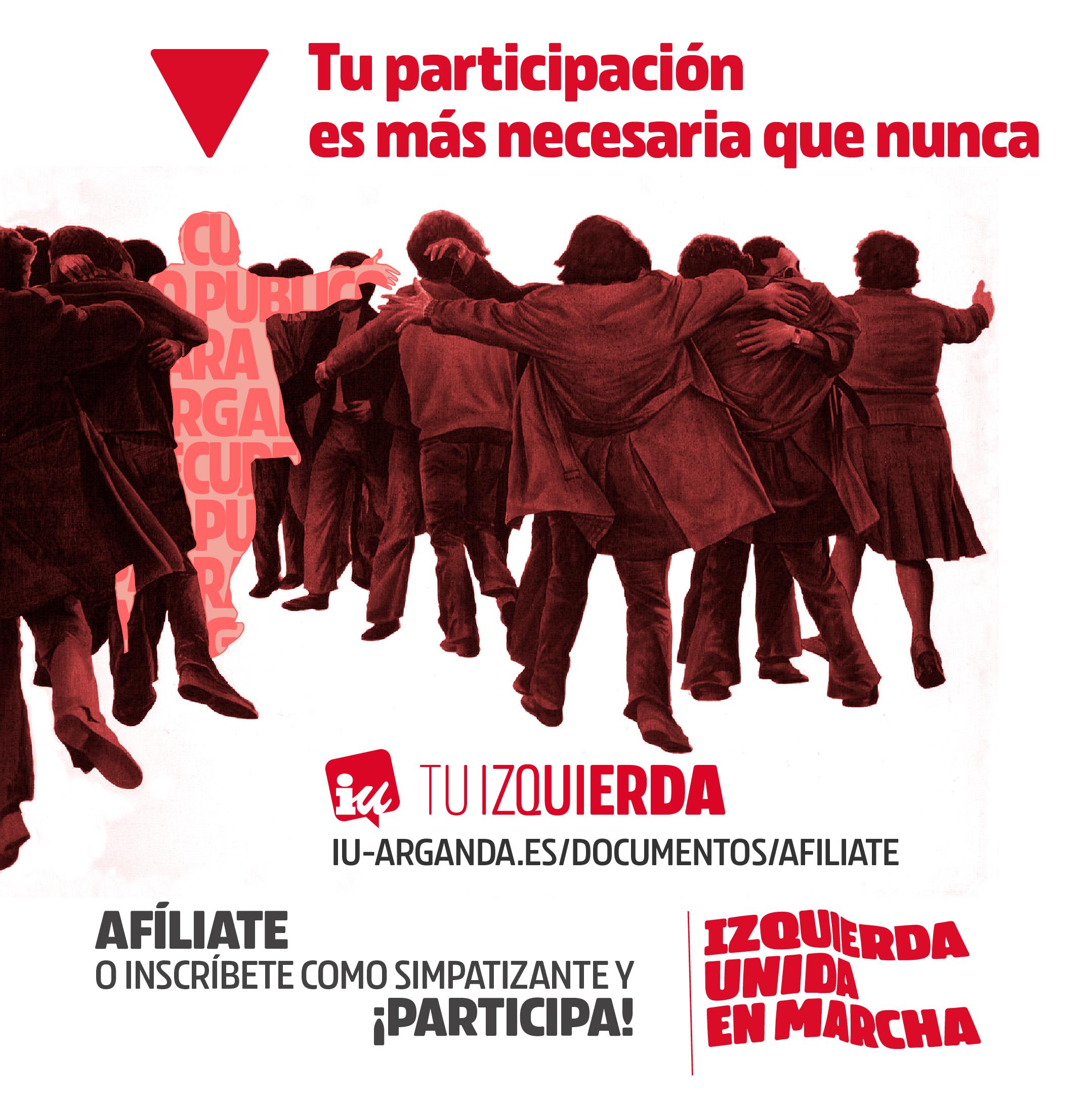 Afiliate y participa