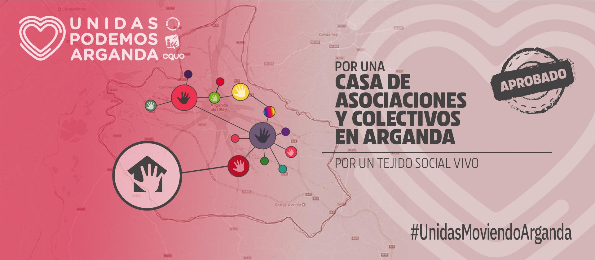 Unidas Podemos Arganda por una Casa de las Asociaciones