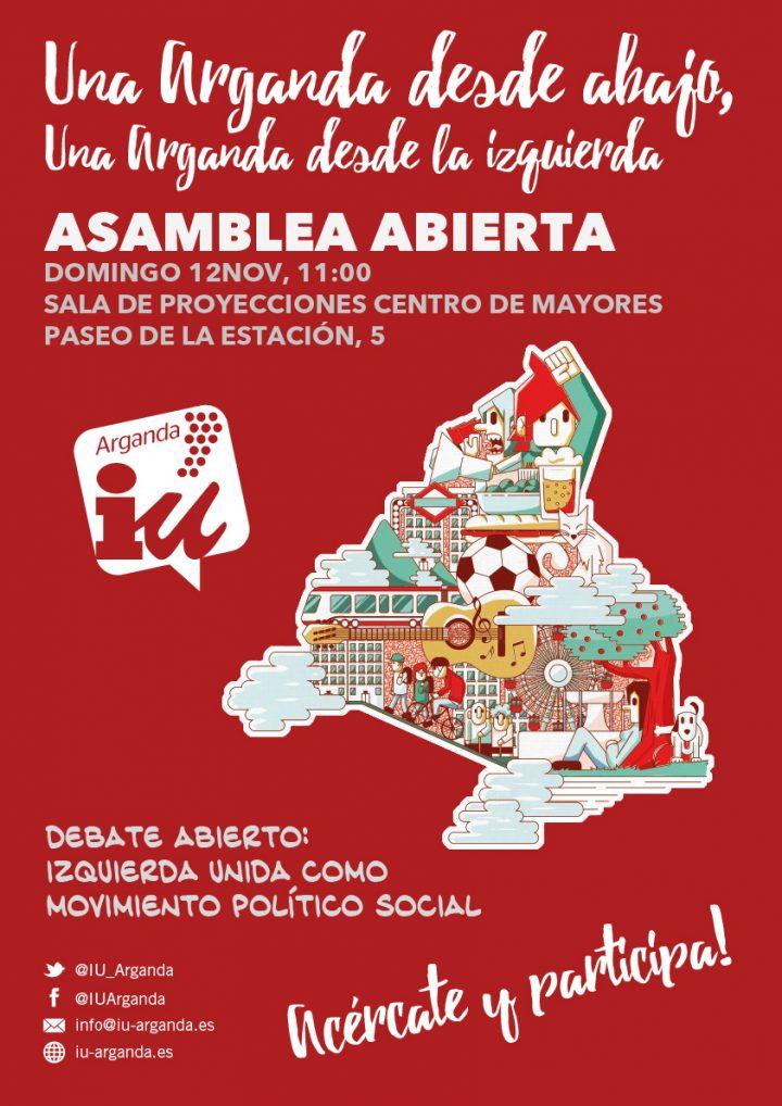Asamblea Abierta IU Arganda 12NOV