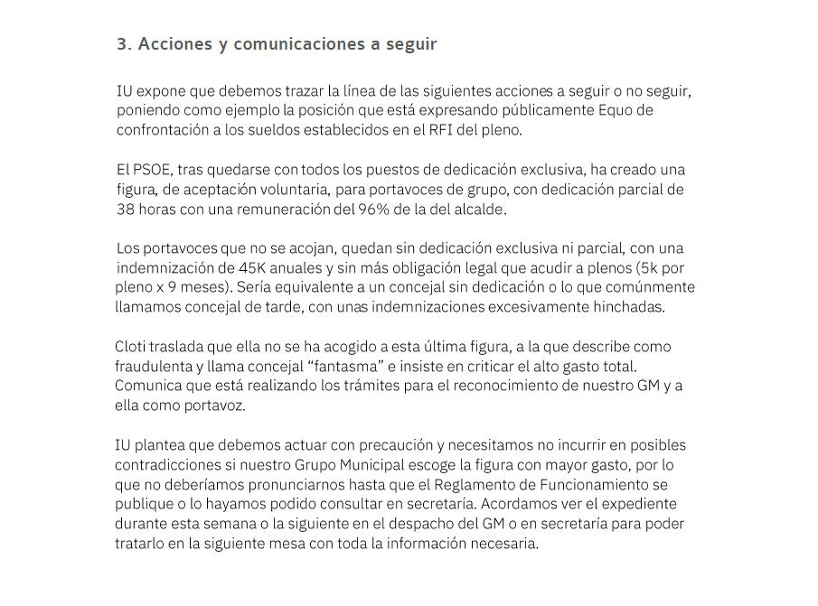ClotiLeaks II - Acta 3 - Acciones a seguir