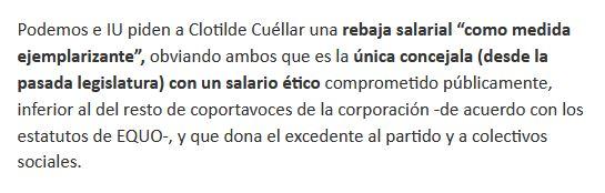 Comunicado Equo Madrid 13 de mayo de 2020
