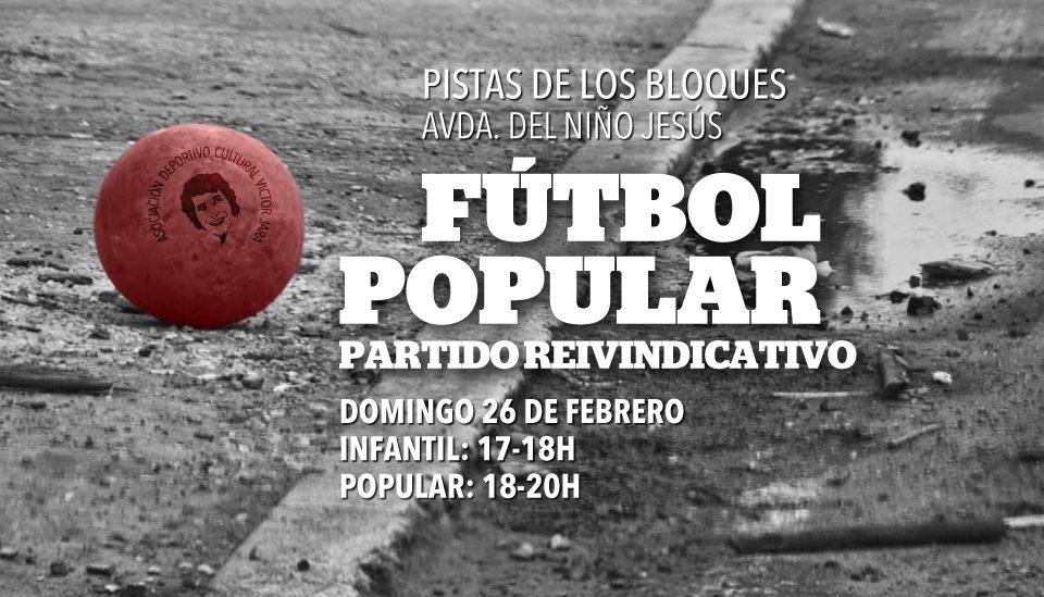Torneo de fútbol popular – ADC Víctor Jara
