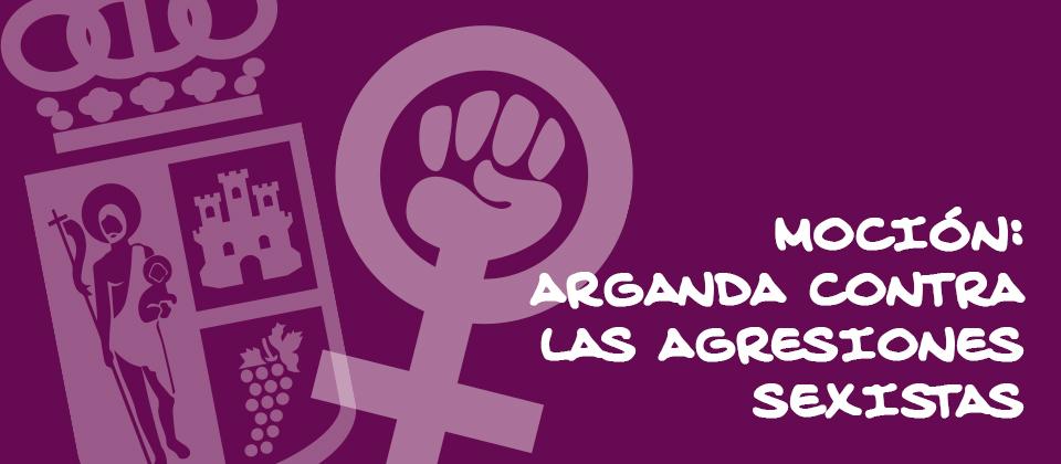 Mocion contra agresiones sexistas