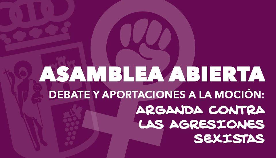 Asamblea abierta contra violencias sexistas