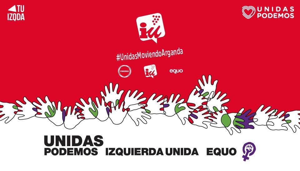 Anuncio Confluencia Unidas Podemos Izquierda Unida Equo