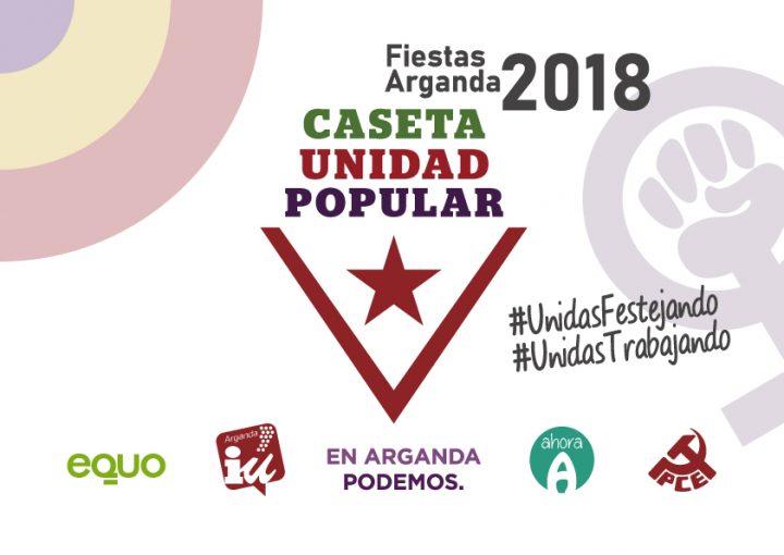 Fiestas 2018 - Caseta Unidad Popular