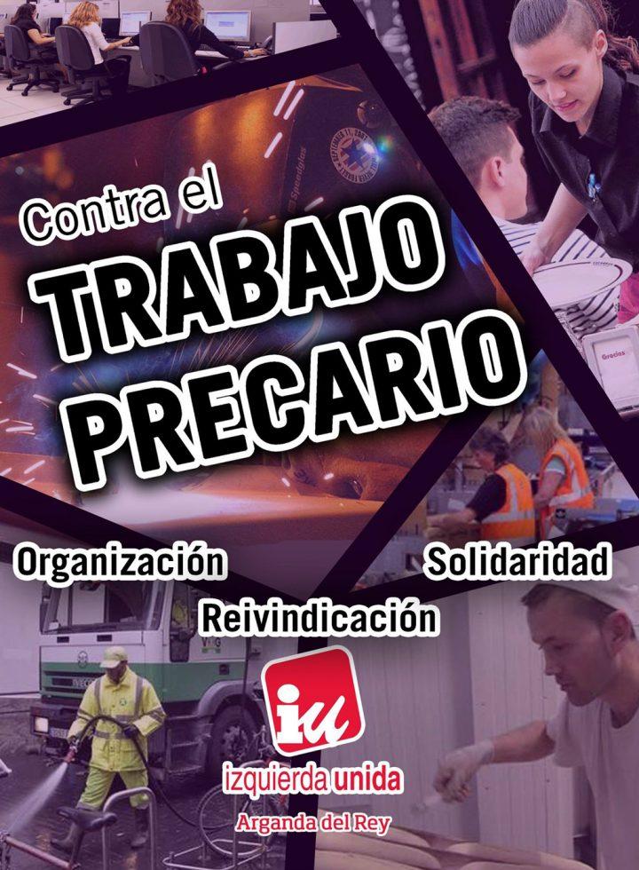 IU Arganda Campaña Contra el trabajo precario