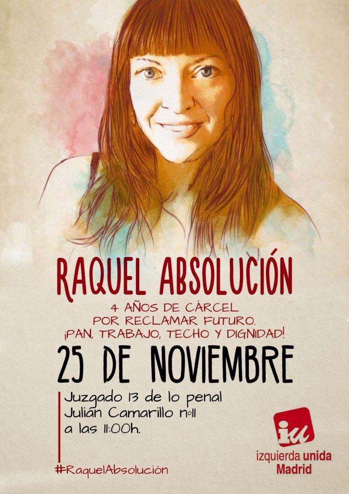 Raquel Absolución!