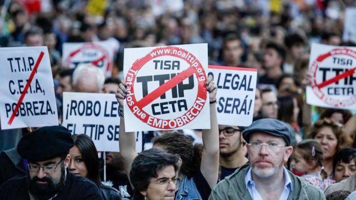 IU Arganda - Manifestación contra TTIP, CETA y TISA 02